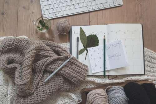 yarn thread knitting clothing pen