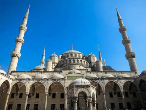 Sultan Ahmed Mosque Istanbul Turkey architecture culture