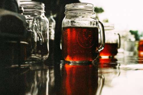 mason jar beer brew booze alcohol
