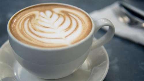 coffee latte cappuccino foam milk