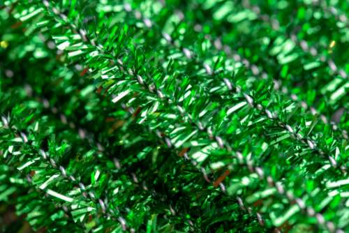 tinsel texture close up pipe cleaners crafts
