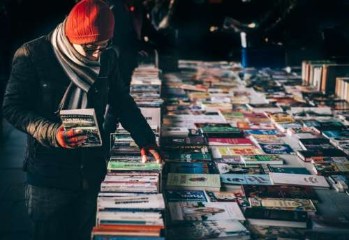 books store sale novel education