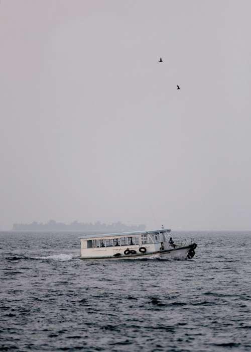 nature water sea ocean boat