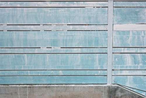 blue walls paint fence texture
