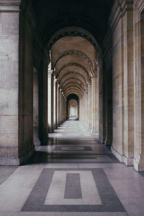 architecture building infrastructure hallway
