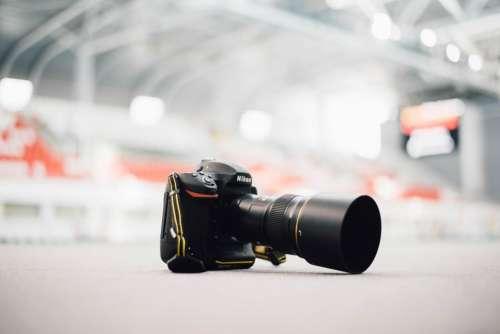 black camera lens photography accessory