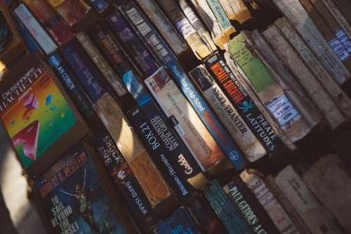 books library novel knowledge school