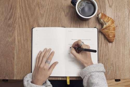 journal notepad notebook pen writing