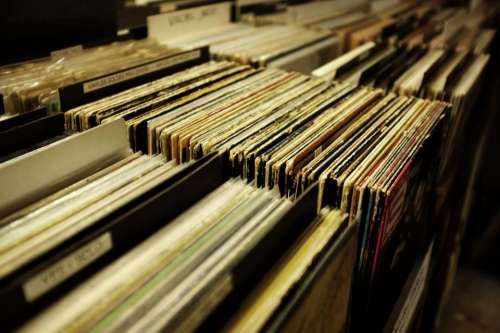 vinyl music sound old technology