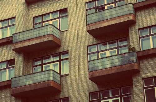 apartments condos flats balconies windows