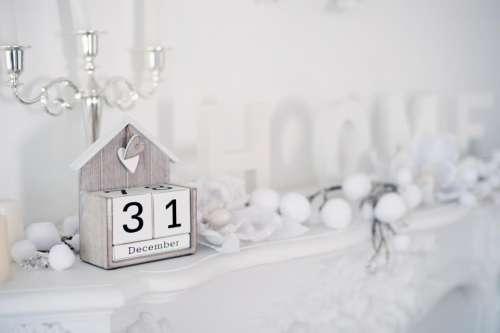 white christmas celebration holiday year