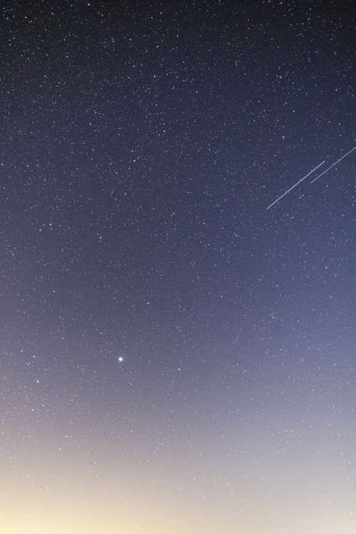starry sky gradient stars astro