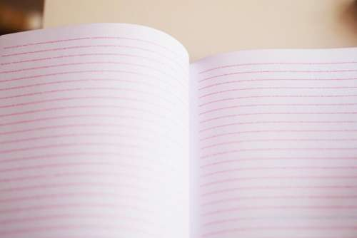 notebook paper texture writing pad
