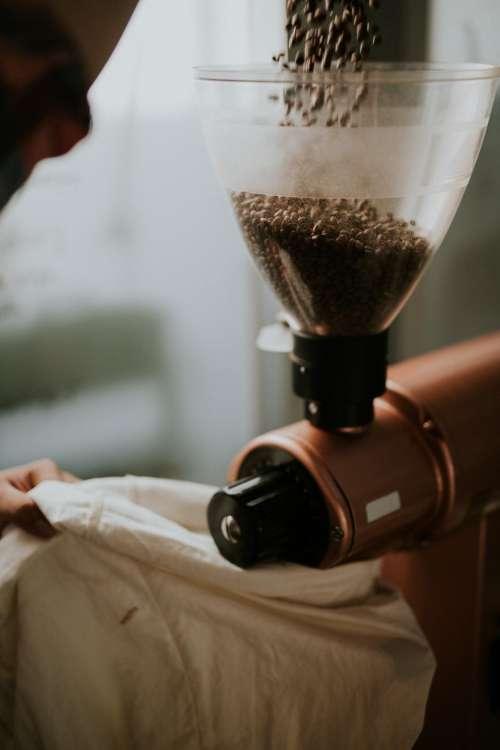 coffee maker hot drink brewed