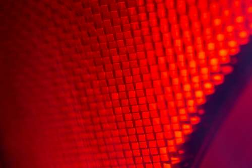 red futuristic abstract texture pattern