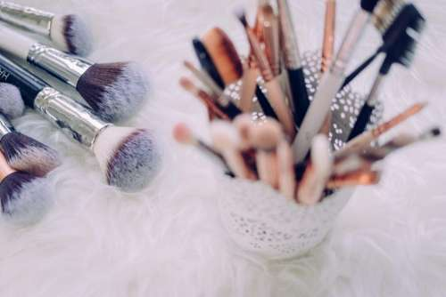 makeup brush things bokeh blur