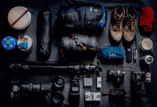 lifestyle travel equipment cameras kit