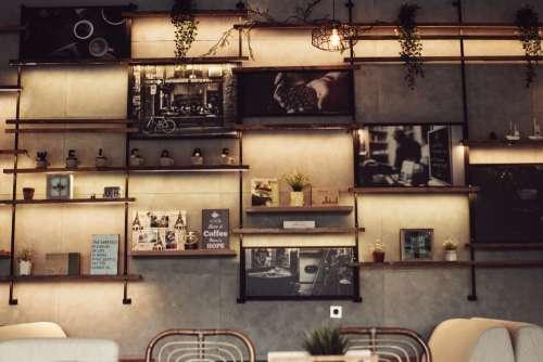 decor coffee shop poster art