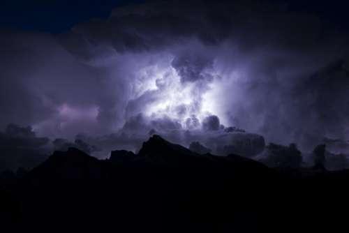 sky dark clouds cloudy rain