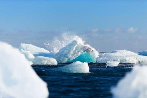 water sea ocean ice bulk