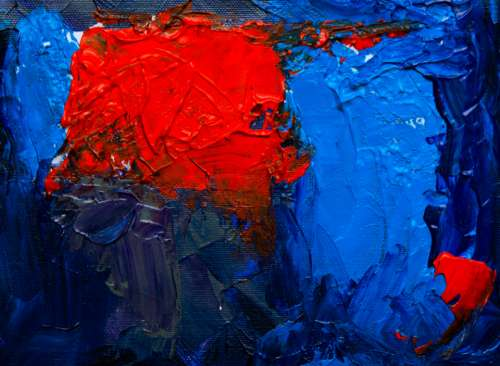 abstract painting close up art creative