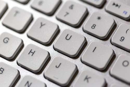 Keyboard Keys Close-Up Computer Equipment