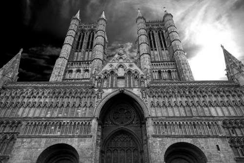 structure buildings landmark architecture sky