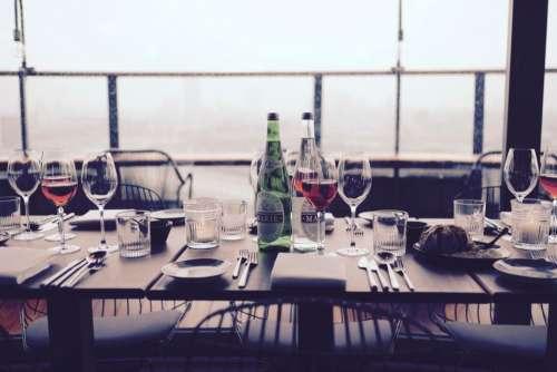 eat food fine dining wine