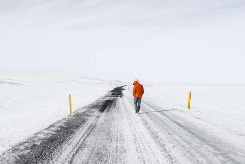 people man walking hiking travel