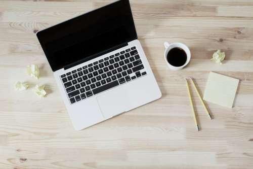 macbook laptop computer technology business