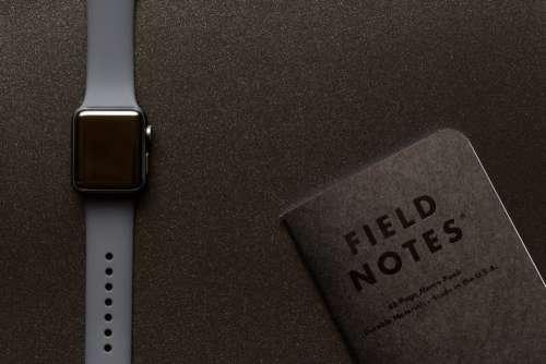 apple watch technology notebook field notes