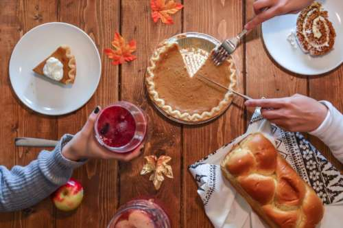 thanksgiving autumn fall food leaf