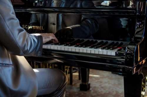 piano keyboard instrument musical musician