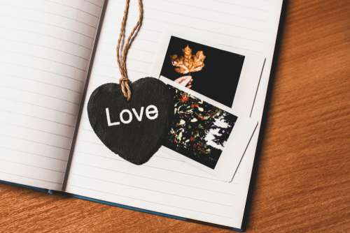 love heart message photo photography