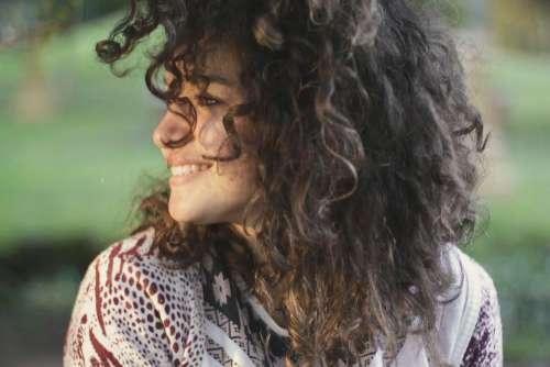 people woman happy enjoy smile