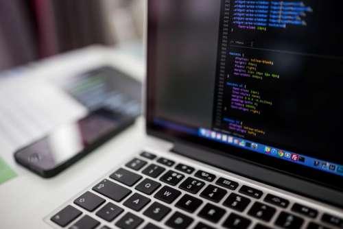 code coding programming CSS macbook