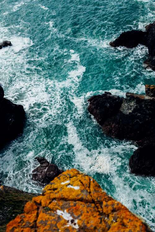 sea ocean blue water nature