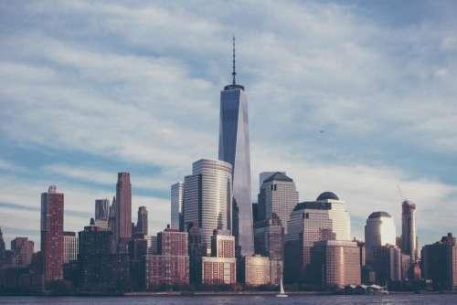 New York NYC city urban downtown