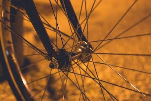 bike bicycle wheel steel alloy