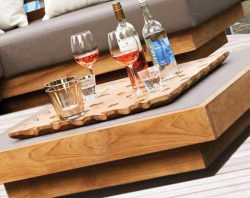 wooden table shot glass alcoholic