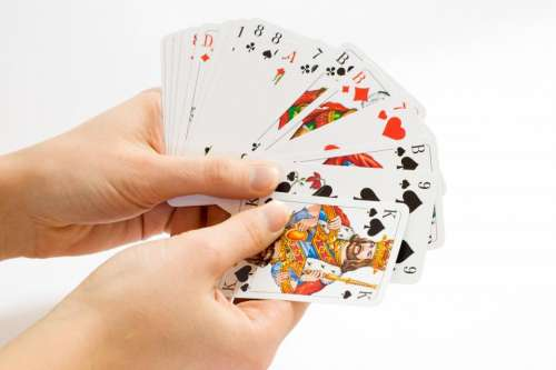 cards game aces symbol play