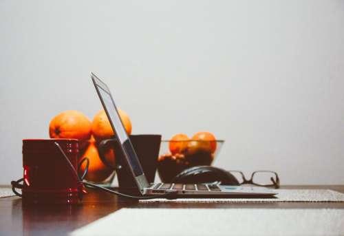 laptop computer technology business work
