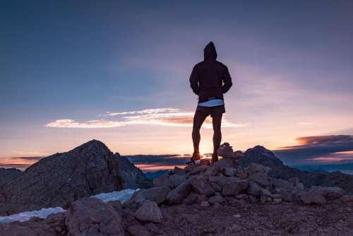 people hiking trekking adventure fitness