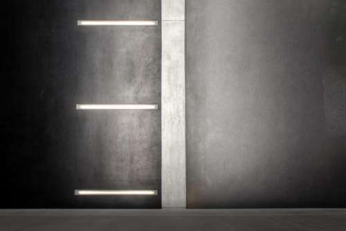black and white wall lighting fluorescent lamp