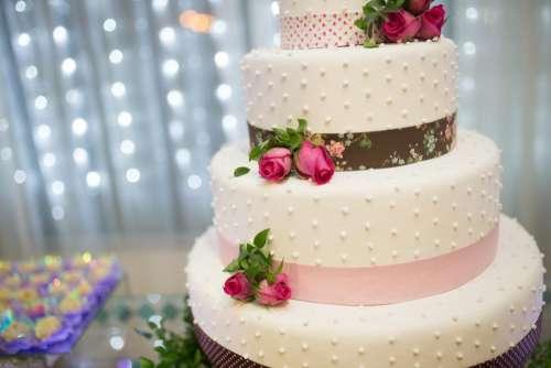 cake food sweets dessert rose