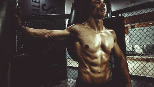 people man sexy muscle fitness
