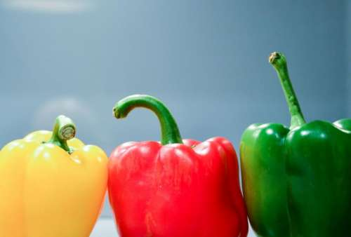 peppers vegetables food healthy yellow