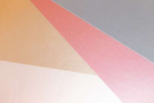 pastel paper background shapes flat lay