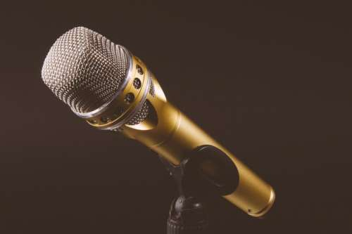 microphone audio recording podcast music