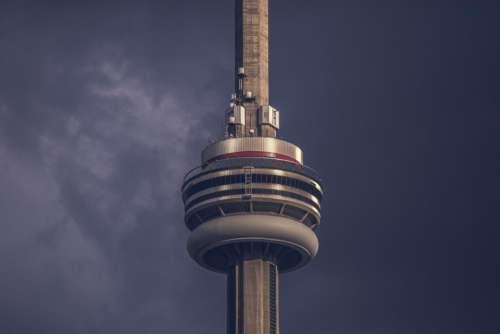 CN Tower skyscraper architecture tower sky